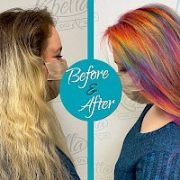 Prism Hair Color by Rochelle