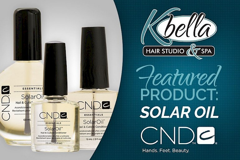 Featured Product - CND Solar Oil