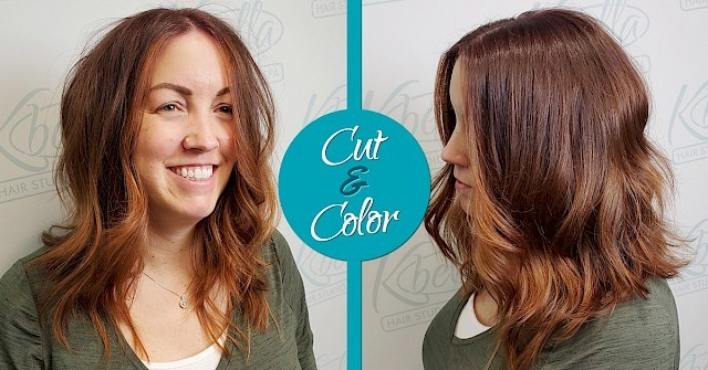 Free Haircut When You Get Color!
