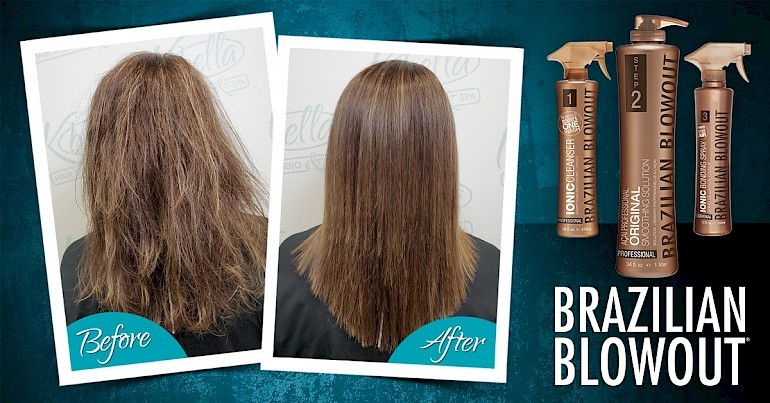 Smooth & Protect Your Hair with a Brazilian Blowout Treatment