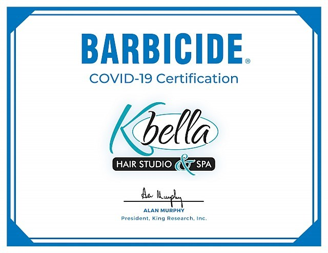 We're Barbicide® COVID-19 Certified